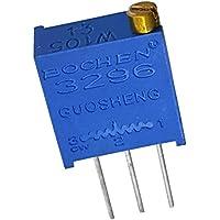 5 x 5K ohm 502 3296W Multigiro Variable Recortador Resistencia Recetable Potenciómetro Cuadrado Trimpot