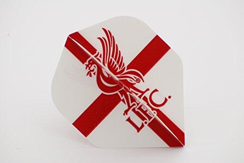 Offizieller Fußball Dart Flights 5 flights LFC (England flag) -