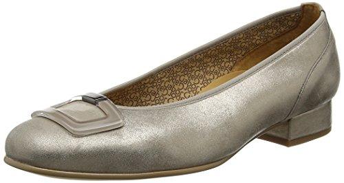 Gabor Shoes Comfort, Damen Geschlossene Ballerinas, Silber (Mutaro 62), 42.5 EU