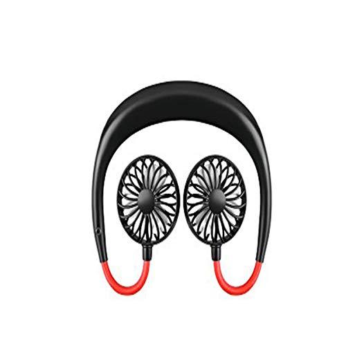 Dapang Hanging Hals USB Fan, Mini-Fan mit Lazy Man Dedicated, Table & Portable, Whisper Quiet Motor,3 Speeds,2000mAh Batterie,2