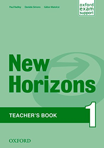 New Horizons 1. Teacher's Book