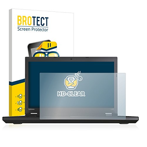BROTECT Schutzfolie kompatibel mit Lenovo ThinkPad L570 klare Bildschirmschutz-Folie