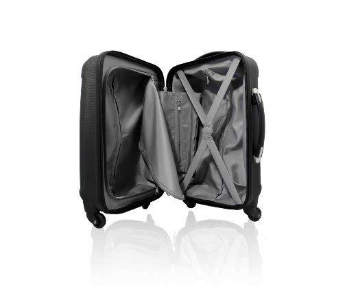 Maleta resistente de 4 ruedas giratorias Cabin Max ABS – equipaje de mano de 18''