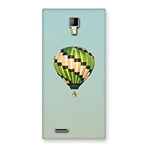 Neo World Fly Green Home Baloon Back Case Cover for Micromax Canvas Xpress A99
