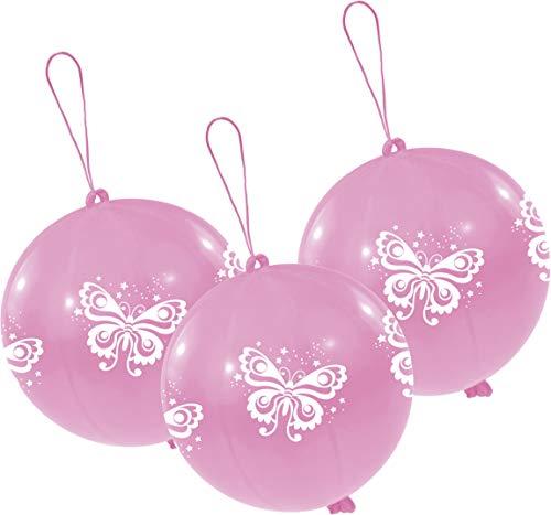 amscan Latexballons Punch Balls Schmetterling