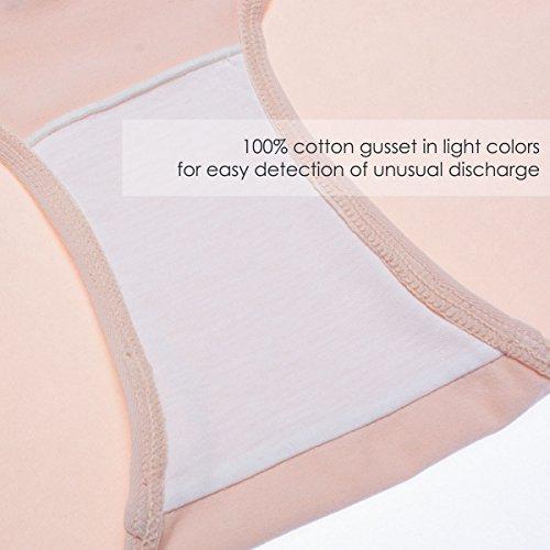 Intimate Portal Damen Komfort Sitz Unter-dem-Babybauch Schwangerschaftsslip Sunset 3 Stück