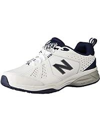 New Balance 624v5, Zapatillas Deportivas para Interior para Hombre, Blanco (White/Navy Wn5), 40 EU
