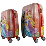 GAMME 5 Princess Polycarbonate 1 Kids Hard Luggage Trolley Travel Bag  Orange, 9 Inch/53.5 cm