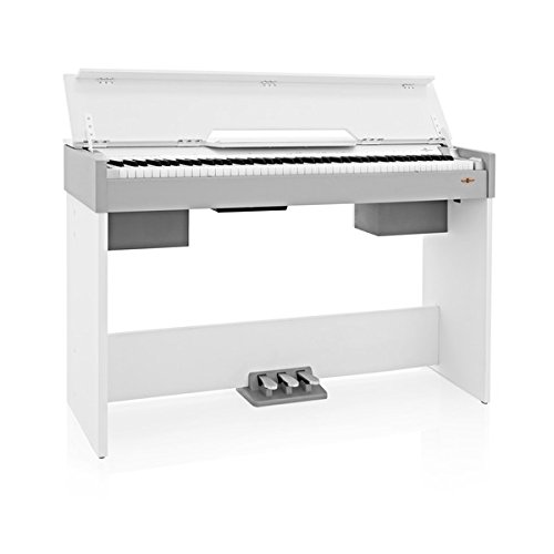 DP-7 Pianoforte Digitale Compatto di Gear4music Bianco