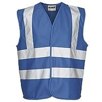 Rty Enhanced Viz High Visibility Kids Childrens Fluorescent Vest Waistcoat