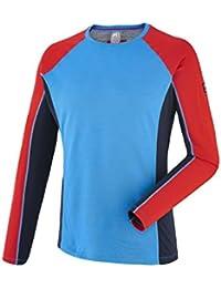 Millet - Tee-shirt Trilogy Dual Wool Ts Ls Bleu Homme - Homme - Bleu