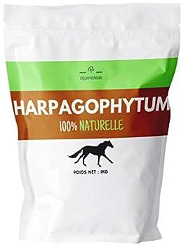 EQUIMONDIA Harpagophytum Pure - 100% Végétale - pour Chevaux - 1KG