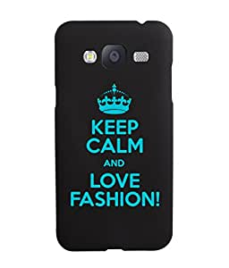 KolorEdge Back Cover For Samsung Galaxy J3 - Black (5842-Ke15084SamJ3Black3D)