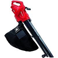 Einhell GC-EL 2500 E-Aspirador-soplador eléctrico, saco de 40l, regulador de velocidad, 7000-13500 rpm, 2500 W, 230-240 V, color negro y rojo