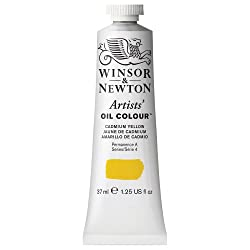 Winsor & Newton 37ml Artists' Oil Colour - Cadmium Yellow