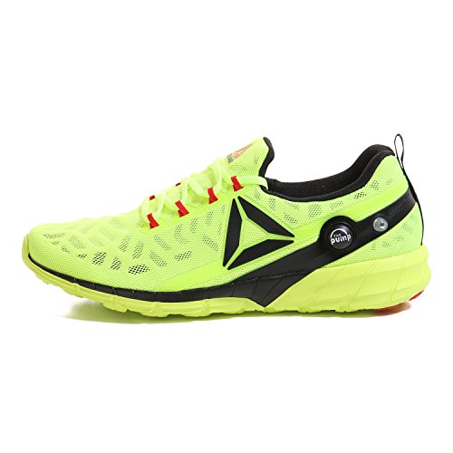 Reebok Zpump Fusion, Chaussures de Sport Homme solar yellow-hero yell-black-riot red-wht