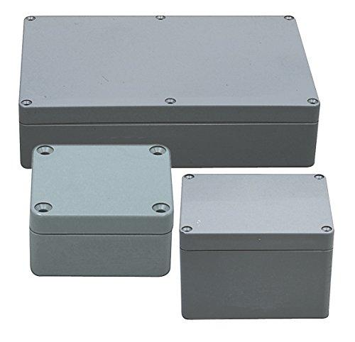 Fixapart Box G378Elektro-Box–Tisch Electric (grau, 18,5cm, 9,5cm, 26,5cm)