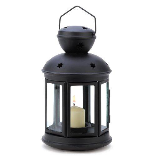 Gifts & Decor Schwarz kolonial Kerzenhalter Hängelaterne Lampe