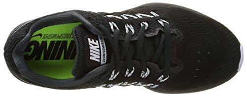 Nike Ladies Air Zoom Vomero 10 Scarpe Da Corsa Nere (carboncino Classico / Bianco / Nero)