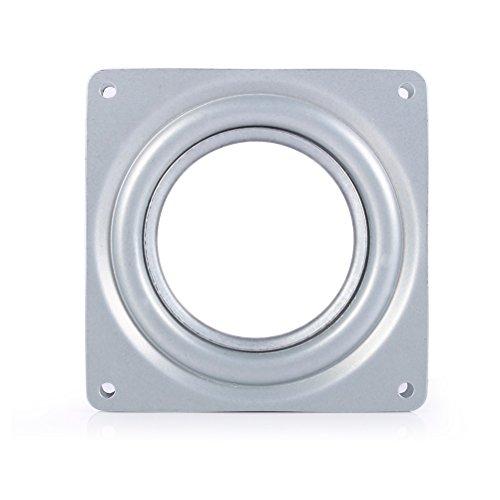 bestomz Cliquet pivotant 360° Tournant à roulement à billes pour afficher Étagère et meuble 155mm