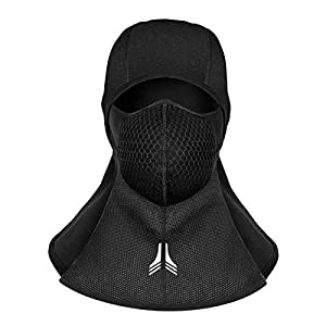 RIOGOO Sturmhaube Motorrad Balaclava Ski Gesichtsmaske Winddicht & Wasserdicht Polar Fleece-Gewebe mit atmungsaktiven Vents Gesichtsmaske Thermal Winddicht