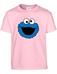 Cookie Monster funny print Kids Tshirts Available in multiple Colours And Sizes.Free Delivery