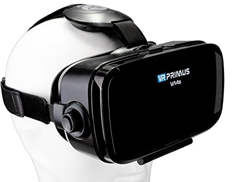 VR Brille VR-Primus VA4s | VR-Headset für Smartphone 's z.B. Android Handy...