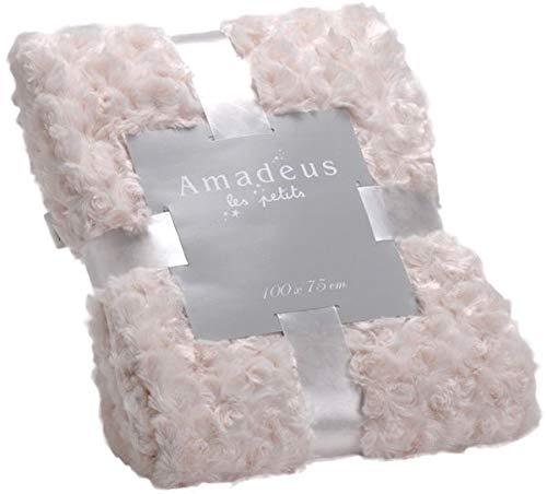 Couverture rose crème, collection Les Petits Amadeus