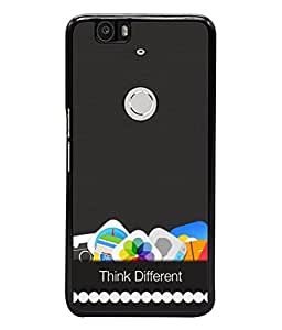 PrintVisa Designer Back Case Cover for Huawei Nexus 6P :: Huawei Google Nexus 6P (Mobile Application Updated Message Proverb)