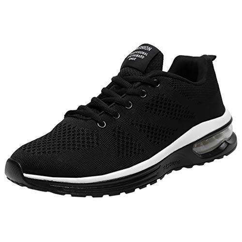 Binggong Sneaker Herren Rutschfeste Sportschuhe Laufschuhe Männer Low-Top Turnschuhe Atmungsaktiv Outdoorschuhe Straßenlaufschuhe -