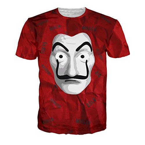 Shonentee Camiseta de Hombre - La Casa de Papel