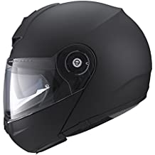 SCHUBERTH C3 PRO Matt Black Casque Moto Modulable (XL,noir)