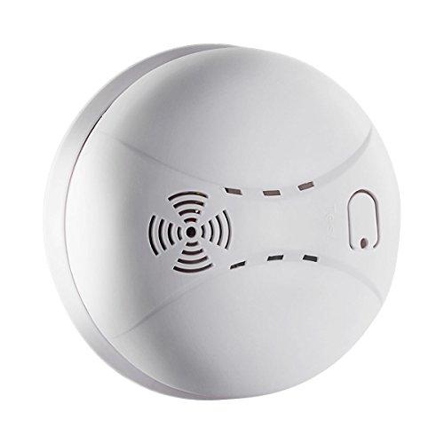 Rauchmelder Brandmelder Feuermelder, Basico Neuester Photoelektrischer Sensor Rauchwarnmelder, 9 V...