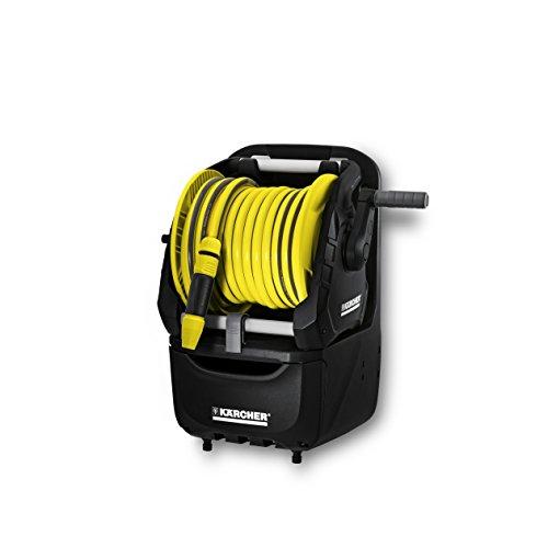 Karcher irrigazione - avvolgitubo portatile hr 7.315 con cassetto portaoggetti. dotato di tubo primoflex da 5/8