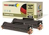 2-er Pack TONER EXPERTE® Premium Toner kompatibel zu CE285A 85A für HP Laserjet Pro P1102 P1102W M1210 M1212 M1212NF M1213NF M1217NFW M1130 M1132 M1134 M1136 P1100 P1101 P1103 P1104 P1104W P1106 P1108