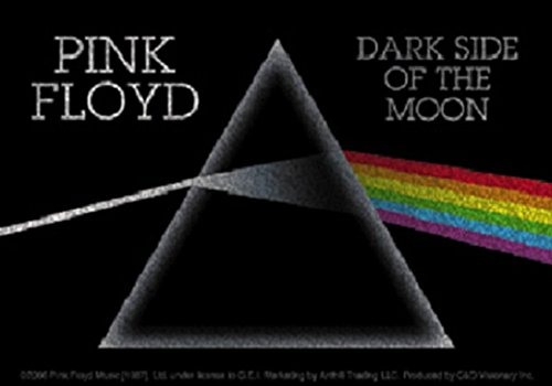 CDS Pink Floyd Glitzer Aufkleber Sticker Dark Sideof The Moon Musik Rock Band The Wall Psychedelic Space Rock Syd Barrerr Roger Waters - Psychedelic-band