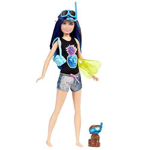 Mattel Skipper con Perro | Barbie FBD70 | Magia de los Delfines | Muñeca