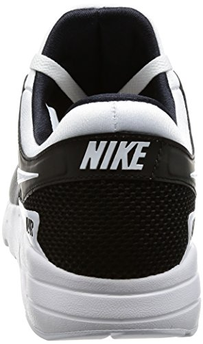Da Max rosso Essenziali bianco Noir Homme Ginnastica Air Zero Scarpe Nike Solare A bianco Bassi Nero HqYw5n6