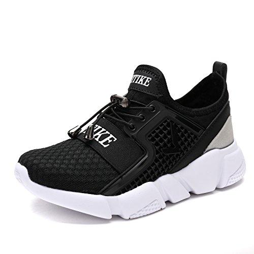 new styles 64859 98821 VITIKE Garçons Filles Engrener Sneaker De Plein air Athlétique Caleçon sur  Décontractée Fonctionnement Chaussures(Bambin