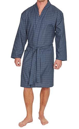 Hombre Liso Tejido Verano Algodón Poliéster Kimono