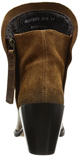 Fly London Thus Damen Stiefel Beige (Beige (Camel/Camel))