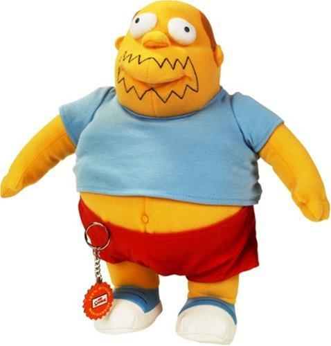 United Labels 1000358 - Simpsons-Plüsch Figur Comic Book Guy 30 cm