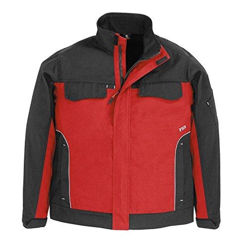 Fhb 2065300 - Pantalones de alianza 130730-3320, la chaqueta seria rojo/negro, rojo,