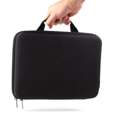 DURAGADGET Transporttasche für Huawei MediaPad T5 und MediaPad M5 10, Acer Iconia One 10 (B3-A40) Tablets, 25,7 cm (10,1 Zoll), Hartschale, leicht (Acer One 10)