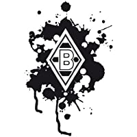 mantiburi WandTattoo Borussia Mönchengladbach® Farbklecks   Borussia Mönchengladbach 60x92cm / aubergine 425