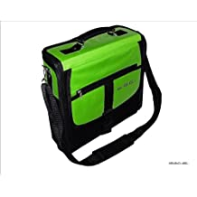 Consola Sony PlayStation 3PS3Slim verde y negro Deluxe bolsa de transporte/funda. aussi para uso en coche.