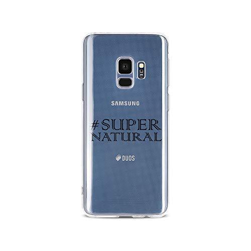 licaso Samsung S9 Handyhülle Smartphone Samsung Case aus TPU mit # SUPER Natural Print Motiv Slim Design Transparent Cover Schutz Hülle Protector Soft Aufdruck Lustig Funny Druck