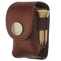 Tragbares Golf Ball mit Taille Tasche Leder Tasche mit Zubehör für Golf-Sport-Tasche