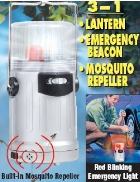 Torch Light Lantern w/ Electronic Mosquito Repeller (3 in 1)