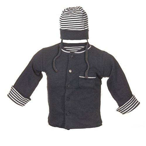 Jacky Jungen Jacke mit Mütze marine, Größe 74